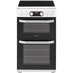 Hotpoint HD5V93CCW 50Cm Electric Cooker With Ceramic Hob