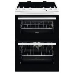 Zanussi ZCV66050WA 60Cm White Electric Cooker With Ceramic Hob