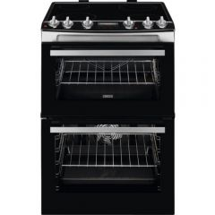 Zanussi ZCV66078XA 60Cm Electric Cooker With Ceramic Hob